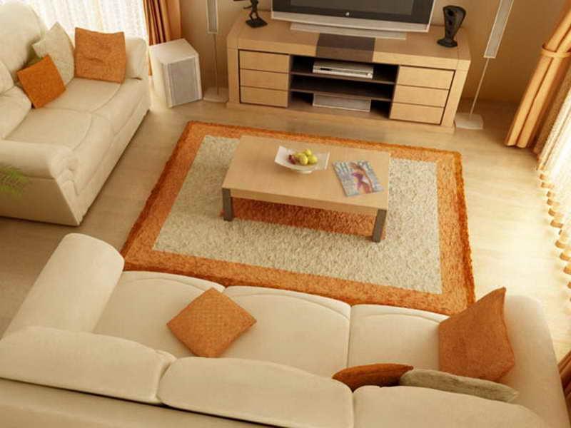Дизайн одной комнаты с двумя диванами фото