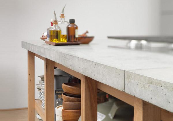 Изготовление столешниц из бетона